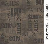 stop aids  | Shutterstock . vector #138633380