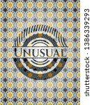 Unusual Arabic Badge. Arabesque ...