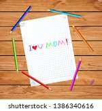 I Love You Mom. Happy Mothers...