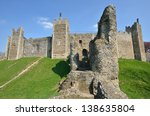 Framlingham Castle With Large...