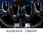 motorcycle headlight | Shutterstock . vector #1386369