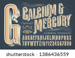 an antique or victorian style... | Shutterstock .eps vector #1386436559
