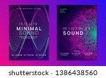 music fest. cool concert... | Shutterstock .eps vector #1386438560