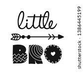 little bro  lil brother  ...   Shutterstock .eps vector #1386445199