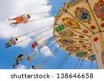 swing seat exciting amusement... | Shutterstock . vector #138646658