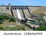 Folsom Dam In California With A ...