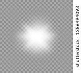 white glowing light burst... | Shutterstock .eps vector #1386494093