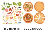 designer for pizza. design... | Shutterstock .eps vector #1386500030