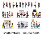 successful business people on...   Shutterstock . vector #1386524336
