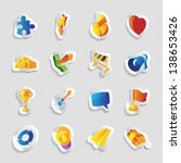 icons for symbols and metaphors.... | Shutterstock . vector #138653426