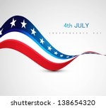 american flag 4th july american ... | Shutterstock .eps vector #138654320