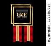 good manufacturing practice.... | Shutterstock .eps vector #1386557189