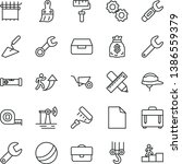 thin line vector icon set  ... | Shutterstock .eps vector #1386559379