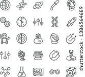 thin line vector icon set  ... | Shutterstock .eps vector #1386564689