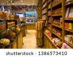 belgium  brussels   may 1  2019 ...   Shutterstock . vector #1386573410
