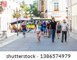 warsaw  poland   august 23 ...   Shutterstock . vector #1386574979