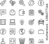 thin line vector icon set  ... | Shutterstock .eps vector #1386577166