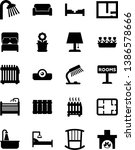 vector simple icon set   table...   Shutterstock .eps vector #1386578666