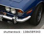 essen  germany   april 12  2019 ...   Shutterstock . vector #1386589343