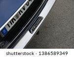 essen  germany   april 12  2019 ...   Shutterstock . vector #1386589349