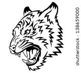 tiger anger. this is vector... | Shutterstock .eps vector #138659000