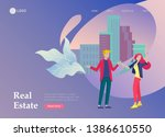 real estate landing page...