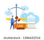 Lawyer  Legal Advisor Holding...