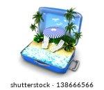 package beach vacation | Shutterstock . vector #138666566