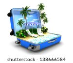 package beach vacation | Shutterstock . vector #138666584