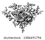 angle ornament symbol is a... | Shutterstock .eps vector #1386691796