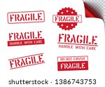 logistics clean rubber stamp... | Shutterstock .eps vector #1386743753