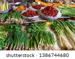 selection of various vegetables ...   Shutterstock . vector #1386744680