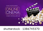 cinematograpy producer... | Shutterstock .eps vector #1386745370