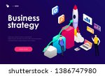 business strategy concept....