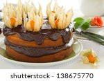 Pumpkin Cake With Chocolate...
