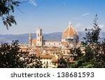 florence panorama italy | Shutterstock . vector #138681593