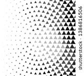 abstract halftone background... | Shutterstock .eps vector #1386816506