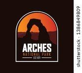 Arches  Utah Usa. National Park ...