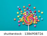 Sweet Lollipop And Colorful...