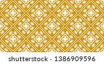 talavera pattern.  indian... | Shutterstock .eps vector #1386909596