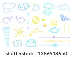 infographic elements on... | Shutterstock .eps vector #1386918650