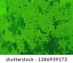 obsolete wall with peeling... | Shutterstock . vector #1386939173