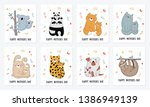happy mother's day postcard... | Shutterstock .eps vector #1386949139
