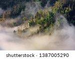 samaba rice terrace fields in... | Shutterstock . vector #1387005290