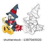 vector illustration of a cute...   Shutterstock .eps vector #1387065020