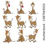 vector illustration of a cute...   Shutterstock .eps vector #1387065023