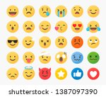 Social Media Emoticons Vector...