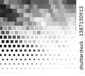 monochrome geometric background.... | Shutterstock . vector #1387150913