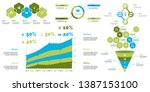creative business infographic... | Shutterstock .eps vector #1387153100