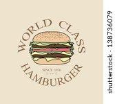 illustration world class... | Shutterstock . vector #138736079